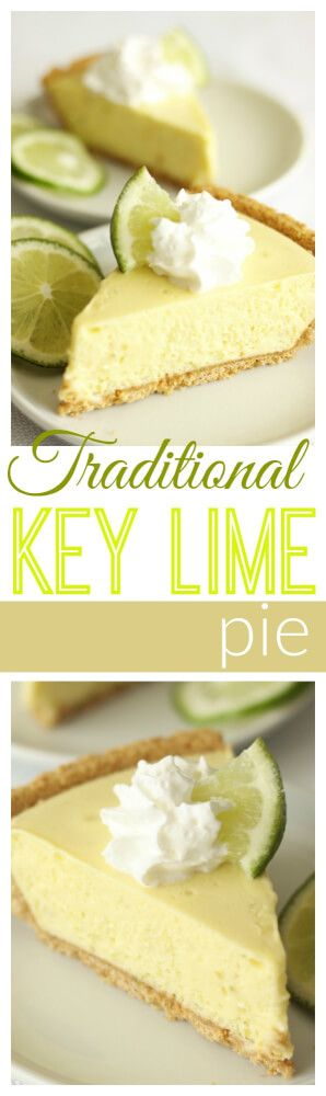 This Key Lime Pie recipe comes straight from Savannah, Georgia and it is THE best! Try it with whipped topping or a meringue topping. via @favfamilyrecipz