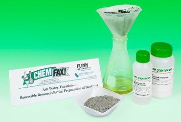 Ash Water Titration Green Chemistry Laboratory Kit developed with Beyond Benign