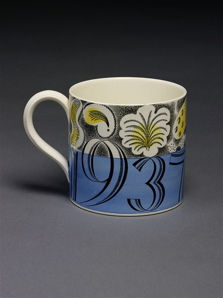 Eric Ravilious, born 1903 - died 1942 (designer)  Josiah Wedgwood and Sons (manufacturer)