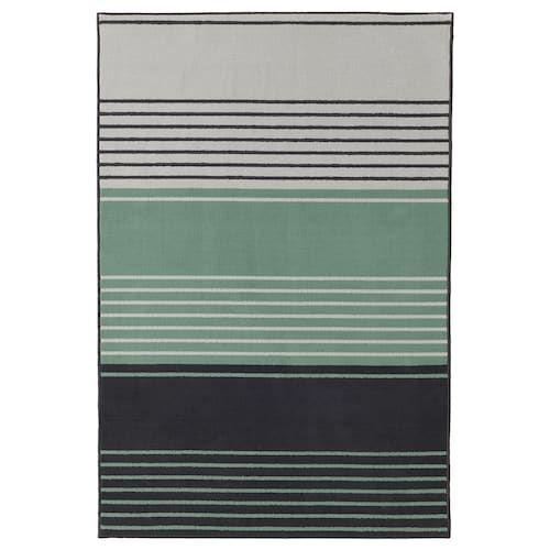 LUSTRUP Tappeto, pelo corto grigio, fantasia 120x180 cm