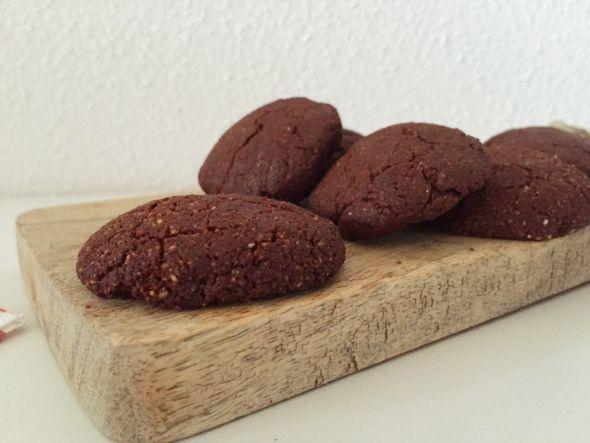 gezonde chocolade koekjes