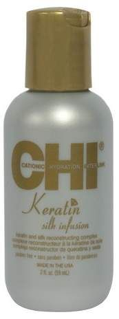 CHI® Keratin Silk Infusion for a protein boost. #hair #haircare #healthyhair #stronghair #keratin #protein #weakhair #damaged