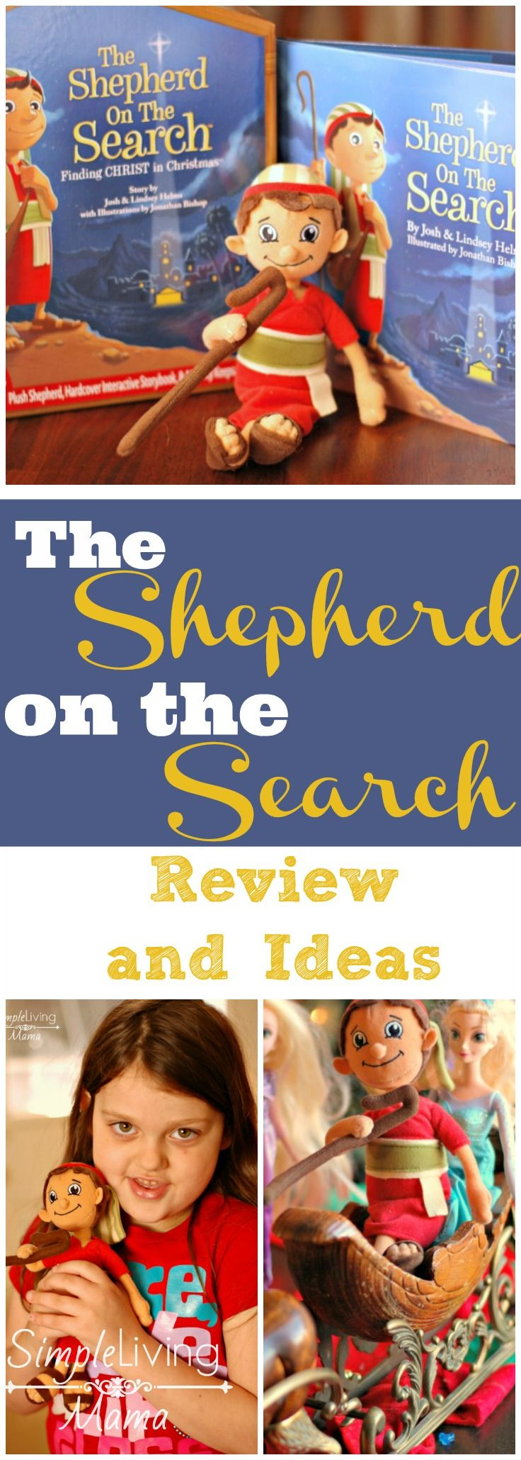 Looking for an alternative to Elf on the Shelf? How about the Shepherd on the Search? Check out  this fun advent idea!
