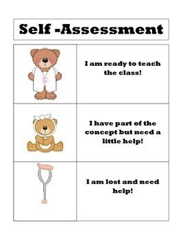 Best Student SelfAssessment Images On   Student Self