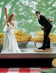 Our wedding cake toppers. :)