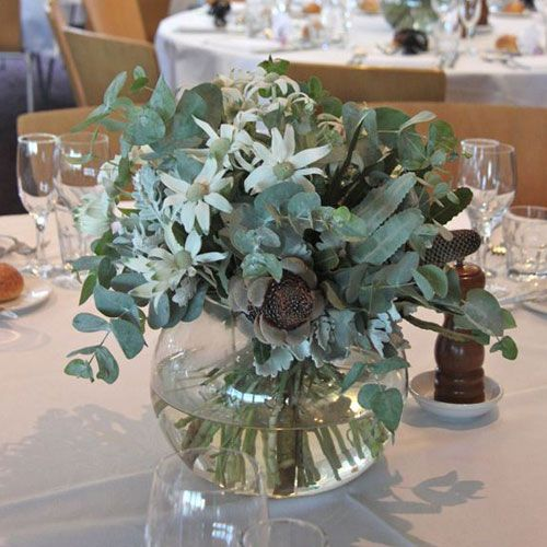 Australian Native Wedding Flowers Rustic Centrepiece – The Knot