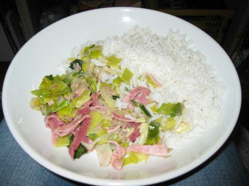 Fondue aux poireaux - Recette de cuisine Marmiton : une recette