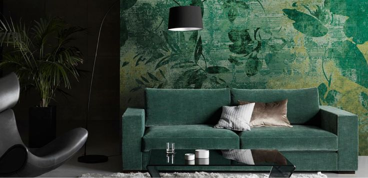 Green gives us a calm and serene vibe and is apparent in the great botanic wave. In our popular Napoli fabric range we are introducing a new lush forest green displayed here on our Cenova sofa, but it is of course available for all the BoConcept sofa systems #BoConceptLiving #InteriorDesign #Furniture