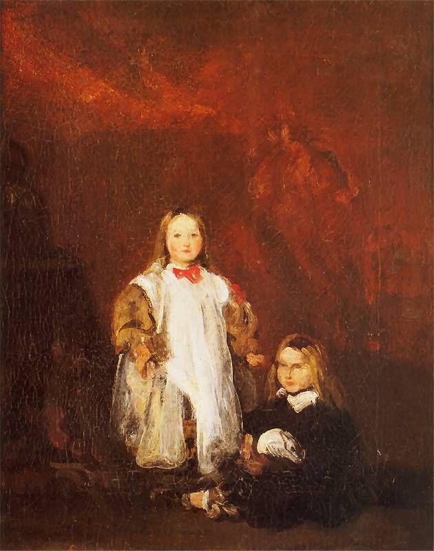 Piotr Michałowski - Portret dzieci artysty, 1841