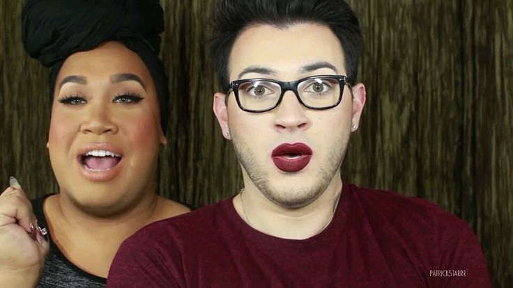 Patrick Starrr and Mannymua!! So much love!!!