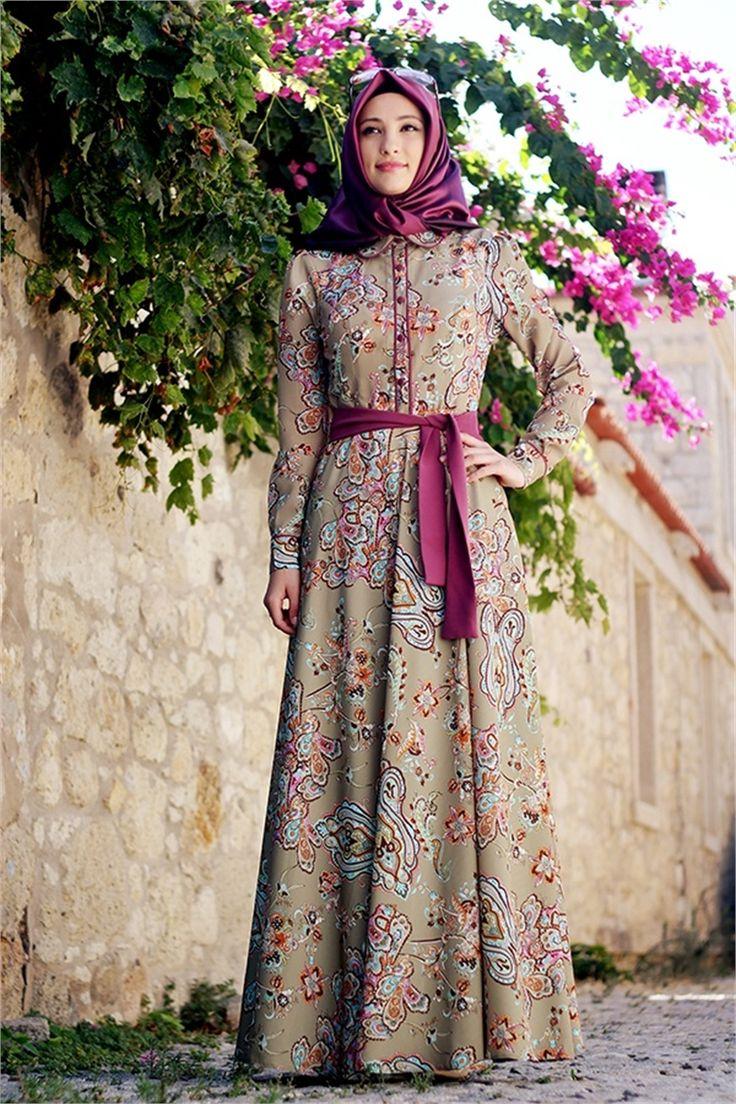 Gamze Polat Vintage Elbise