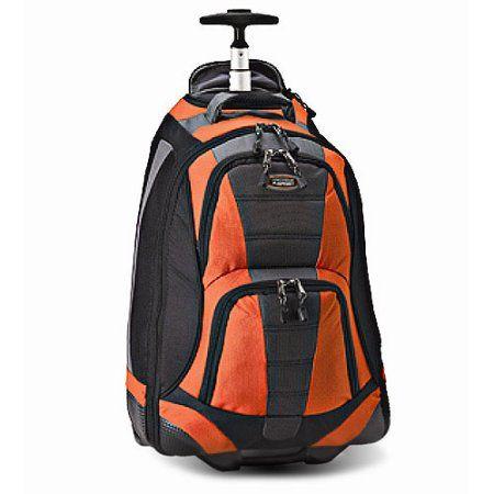 Protege 20 inch Sport Rolling Backpack, Orange | Rolling backpack ...