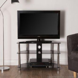1000 id es sur le th me meuble tv en verre sur pinterest - Meuble tv en solde ...