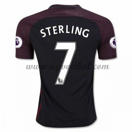 Manchester City 2016-17 Sterling 7 Uit Tenue Goedkope Voetbalshirts Clubs