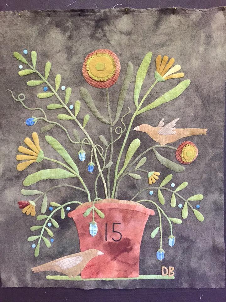 Beautiful! Maggie Bonanomi design, stitched by Deb Blaufuss.