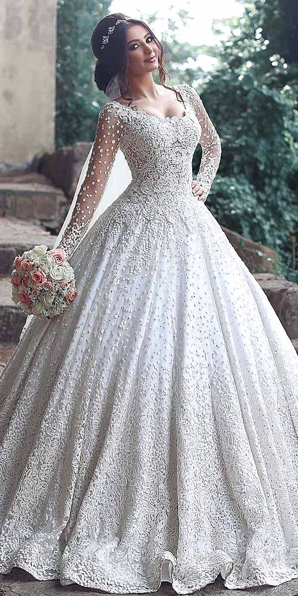 ball gown silhouettes bridal dresses 6
