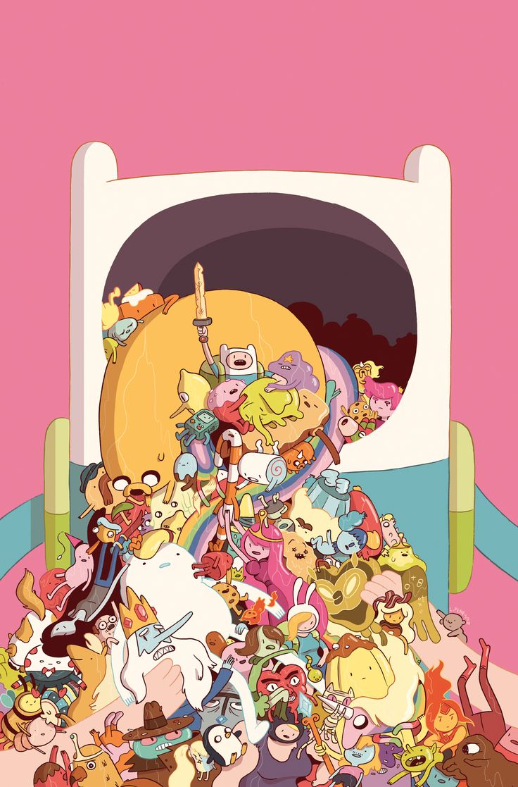 luke-pearson:  This is a cover for Adventure Time comic #25 which I think is out this week!