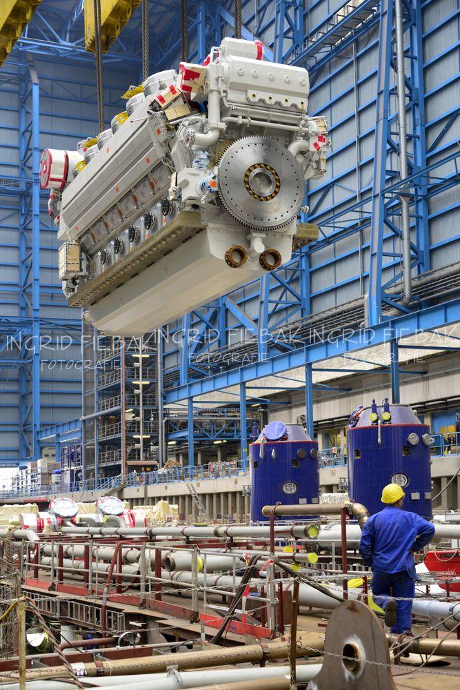 Oasis Of The Seas Engine Room