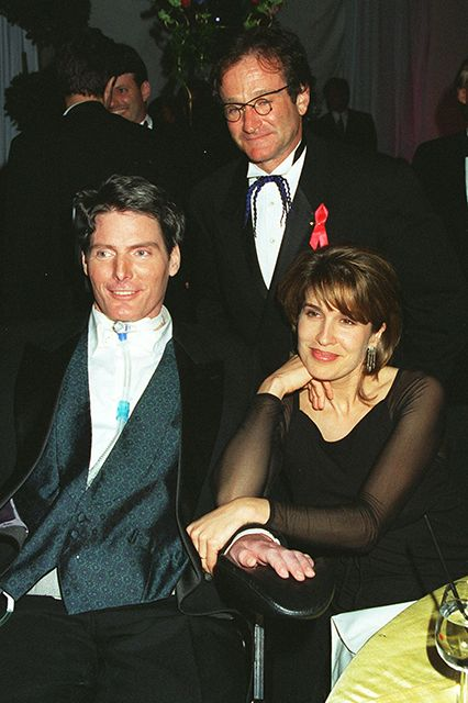christopher reeve and dana relationship