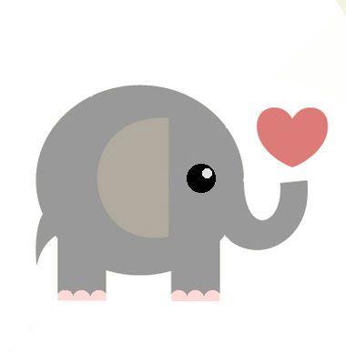 Resultado de imagem para emoticon elefant