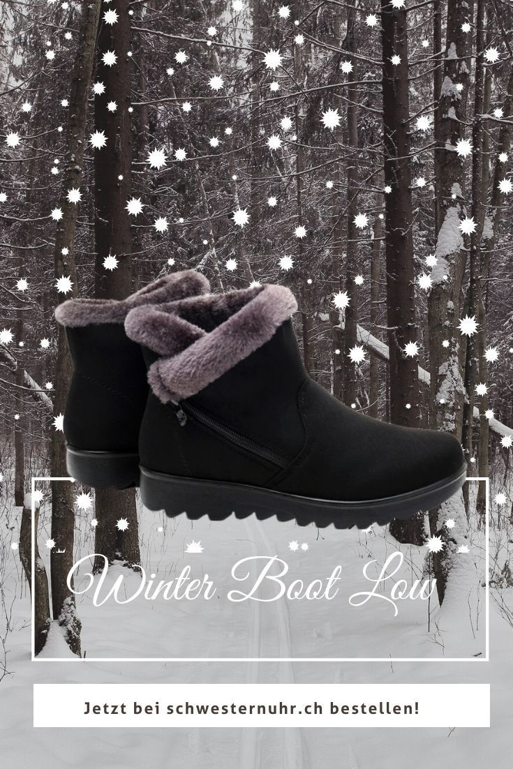 Winter Boot Low Winterschuhe Winterstiefel Stiefelknecht