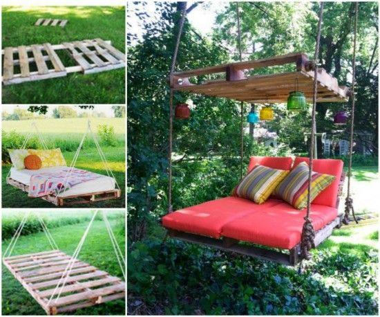 Pallet Swing Bed Tutorial
