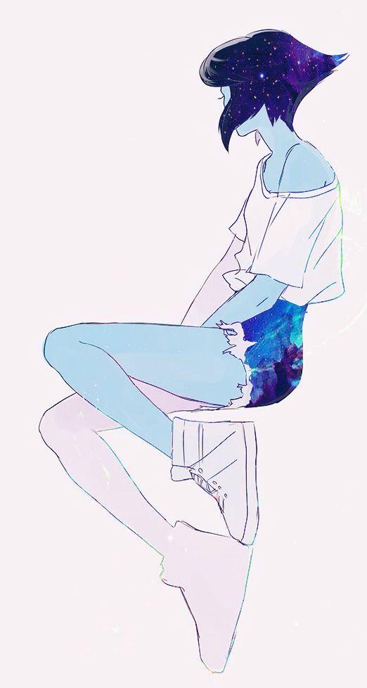 Steven Universe Lapis Lazuli Galaxy