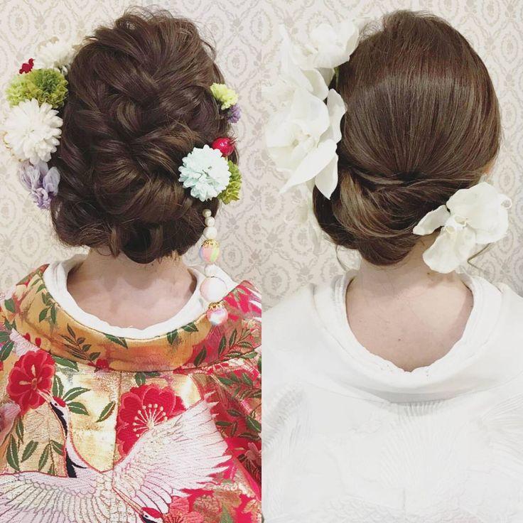 和装2点プランのお客様は ヘアスタイルをガラッとチェンジすることができます。 もちろん文金高島田のカツラへの チェンジでもOKです♪ イメージをガラッと変えてみるのも楽しいですね(^^) #ヘア #ヘアメイク #ヘアアレンジ #結婚式 #結婚式ヘア #サロモ #日本中のプレ花嫁さんと繋がりたい #ウェディング #バニラエミュ #セットサロン #ヘアセット #花 #成人式ヘア #プレ花嫁 #結婚式前撮り #前撮り #着物ヘア #2016冬婚#2017秋婚 #和装ヘア#2016秋婚 #2017春婚 #結婚準備#成人式#和髪#2017秋婚 #2017冬婚 #振袖 #hair
