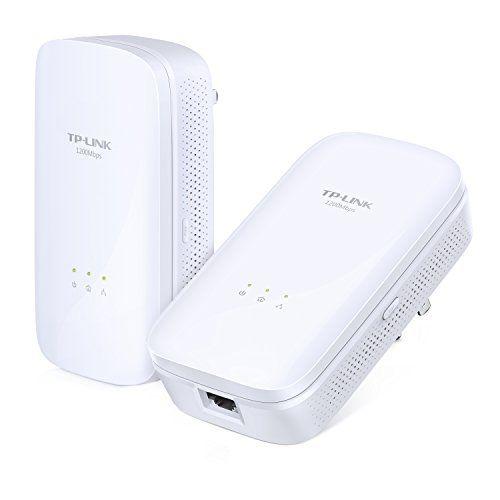 TP-LINK AV1200 Powerline Adapter, Gigabit, Up to 1200Mbps... http://a.co/4INwIjo