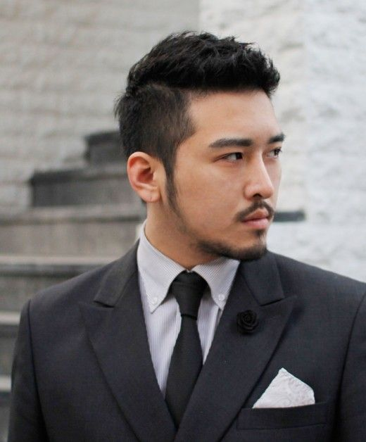 Latest Trendy Asian & Korean Hairstyles For Men 2014