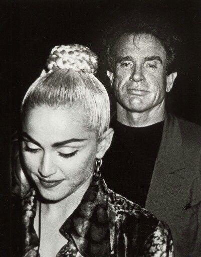 Warren Beatty and Madonna