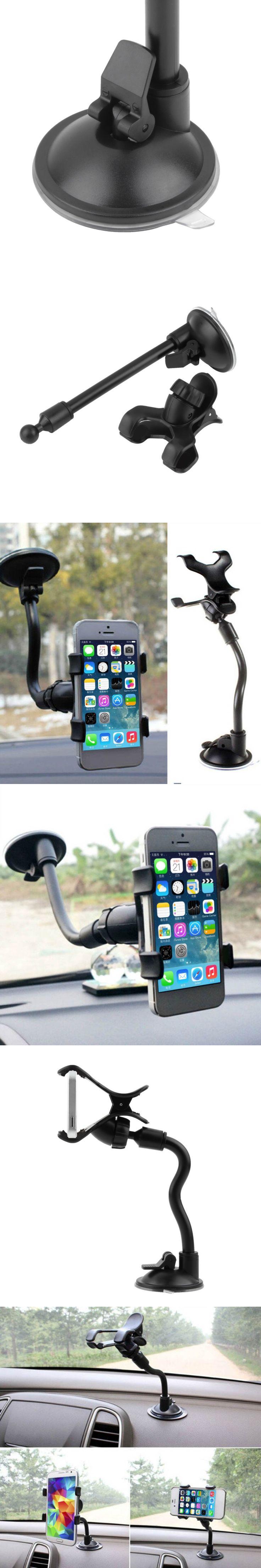 1pcs Hight Quality Car Mount Holder 360 Rotation Windshield Bracket for GPS Mobile Phone Wholesale#