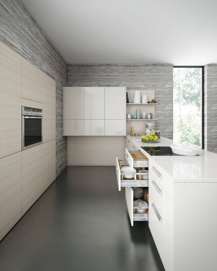 Leicht Kitchen through CGI | Inspirations Area