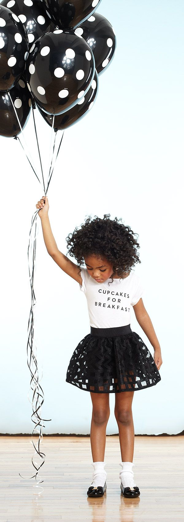Above the Rest: Watch her float on air with the new collection for girls by Milly Minis.