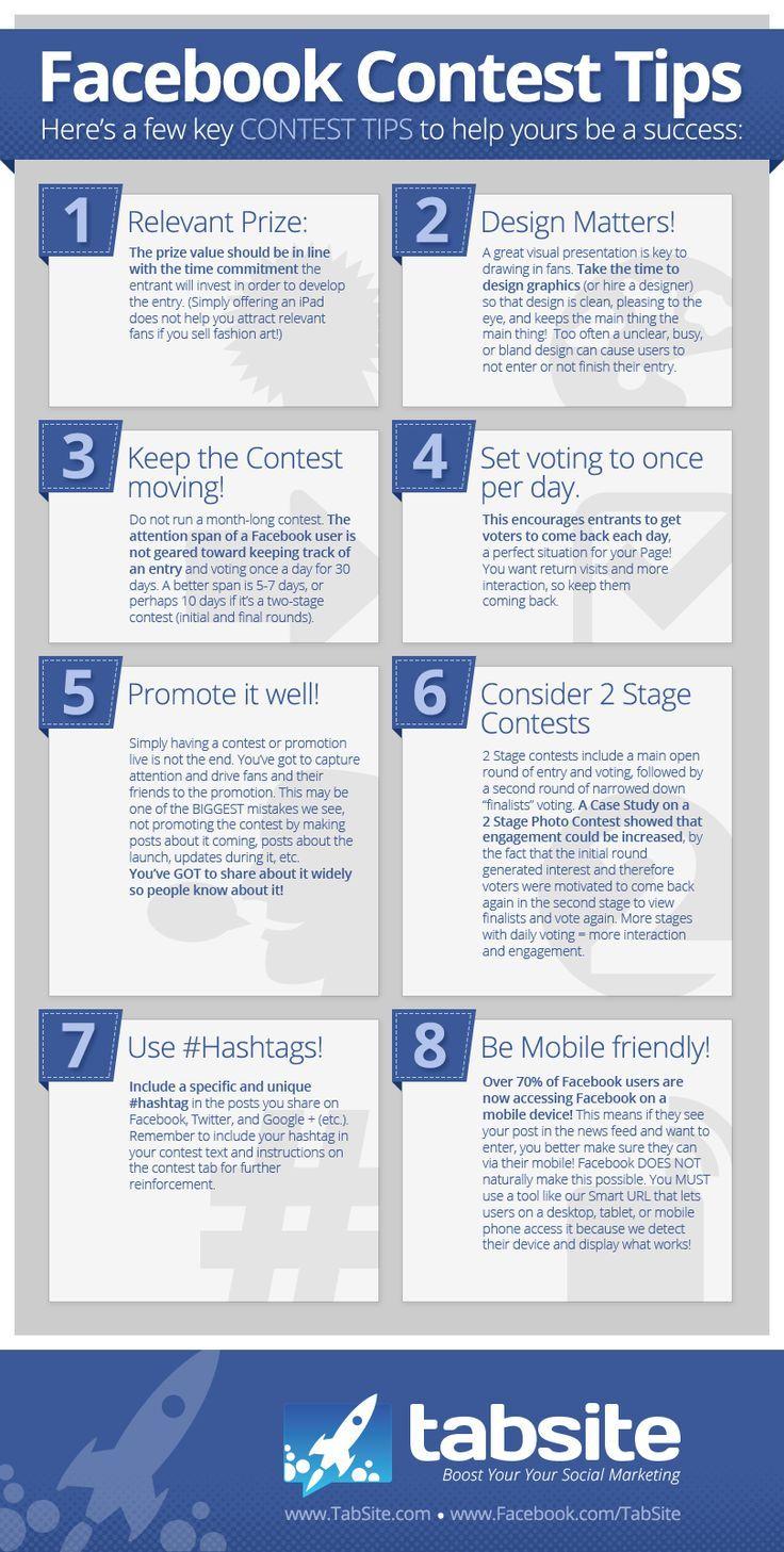 8 trucs pour réussir son concours sur Facebook #1: le grand prix !