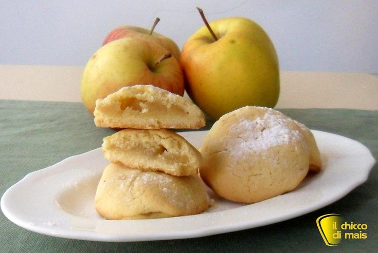 Biscotti cuor di mela ricetta dolce della mia amica il chicco di mais