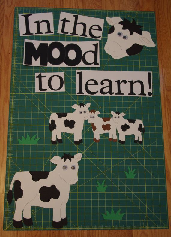 In the MOOd to read! Wonder if I have cow books to make a display with....