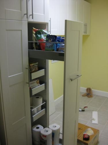 ikea laundry room cabinets finished laundry room with adel pantry and - Ikea Kitchen Pantry Cabinets