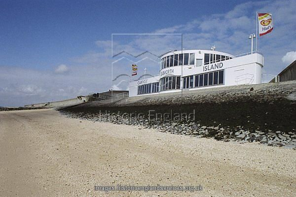 A pioneering building of the Modern Movement, and one of the only architectural designs by Ove Arup. Canvey Island, Essex. IoE 461758