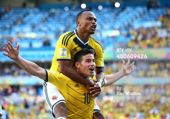 James Rodriguez (Col) - 3rd Goal - Colombia vs Greece 3-0 - Group C - 14 June 2014