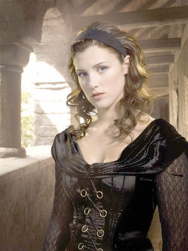 Lucy Griffiths as Maid Marian BBC's Robin Hood (this is somewhat similar to the red one)