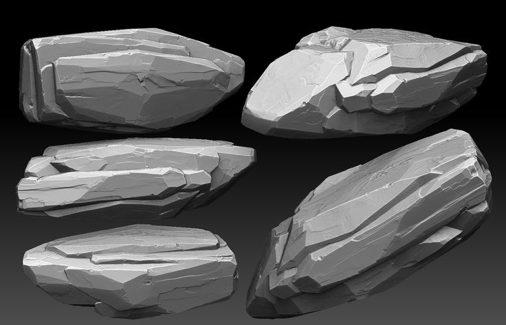 ArtStation - Rock Sculpt , Jesse Carpenter