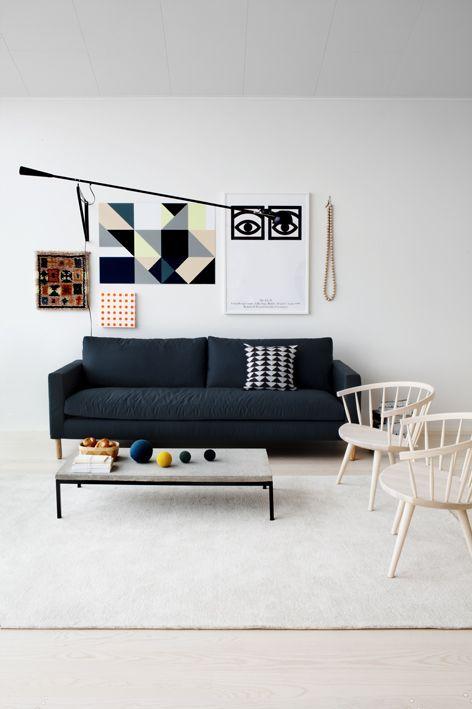 Nice artwork #livingroom interior design, sofas, flooring, ceiling, lighting, rugs, coffee tables, art in the living room #decorating loft wallpaper
