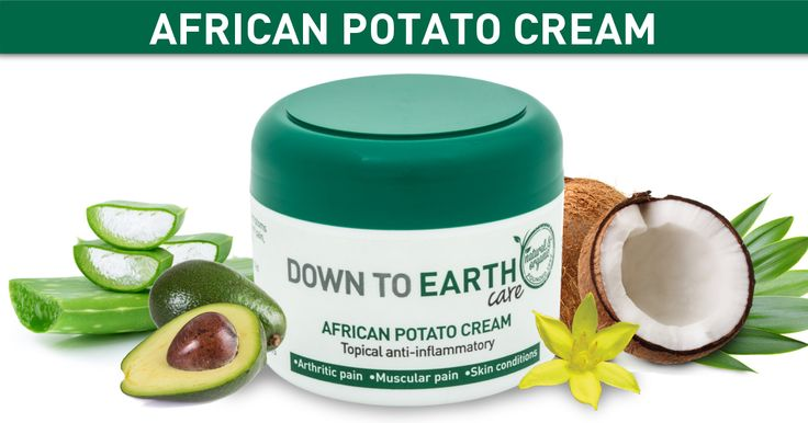 A natural anti-inflammatory, antimicrobial and antioxidant-rich ointment that relieves muscle & joint pain, swelling & stiffness, sunburn & minor burns, plus eczema, acne, rashes & psoriasis. Made from a blend of potent African Potato, Aloe Vera, Avocado oil, Coconut oil and other powerful plant actives to feed your skin and provide soothing relief.