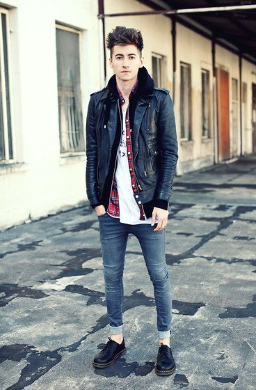 Docs Shoes Leather Jackets And Hoodie On Pinterest