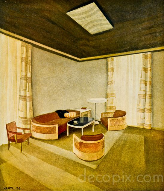 314 Best ART DECO LIVING ROOM Images On Pinterest