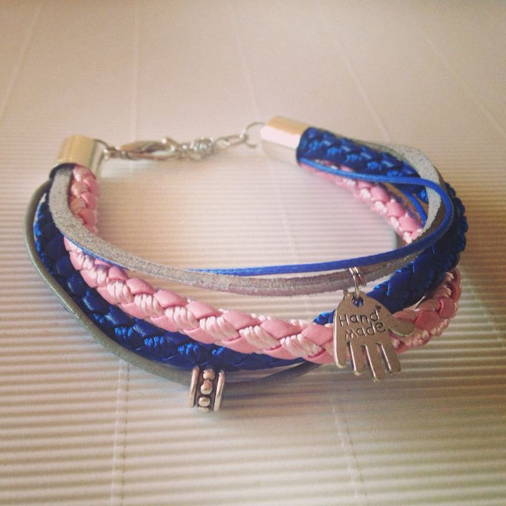 Navyblue and pink