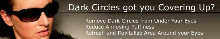 dark circles and puffiness under eyes information