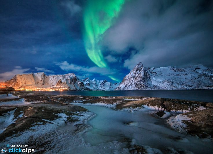 MY FIRST NORTHERN LIGHT by Stefano Savi on 500px