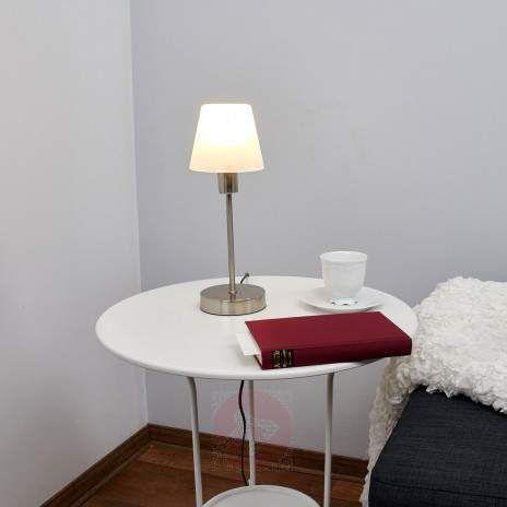 Good Nachttischleuchte Avarin mit LED Leuchtmittel